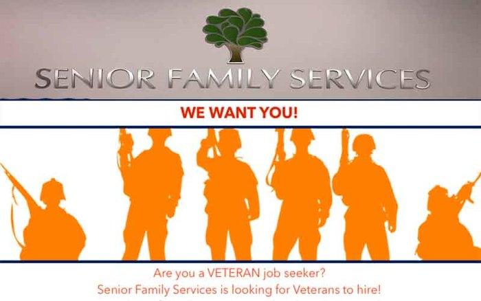 Senior Family Services Joins HireVeterans.com!