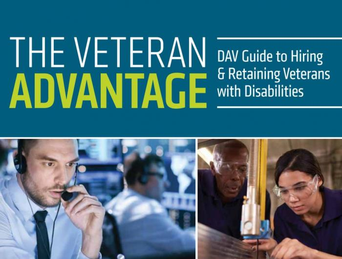 DAV Publishes First-Ever Employer Guide for Hiring andRetaining Veterans with Disabilities