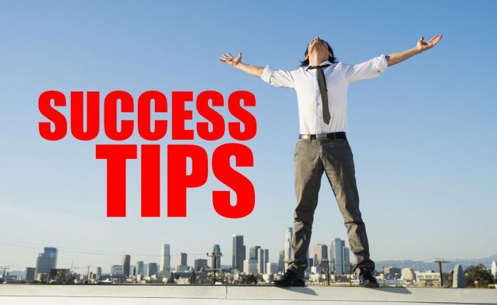 """SUCCESS TIPS:  Just say """"NO"""" and win!"""
