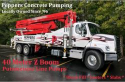 Peppers Concrete Pumping
